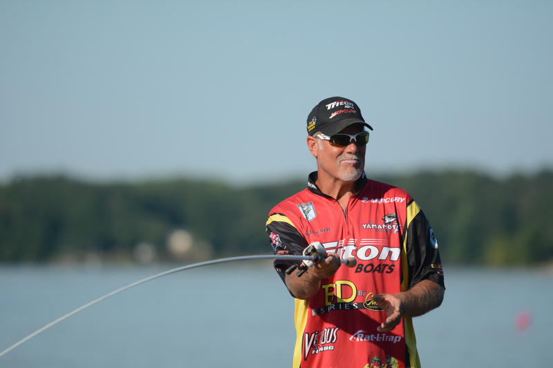 Bassmasters Elite Series in Chesapeake Bay  on Friday, August 14, 2015.